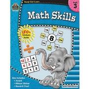 Teacher Created Resources® Ready - Set - Learn, Math Skills Book, Grades 3rd