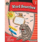 Teacher Created Resources® Ready - Set - Learn, Word Searches Book, Grades 1st
