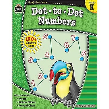 Teacher Created Resources® Ready - Set - Learn, Dot-to-Dot Numbers Book