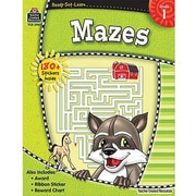 Teacher Created Resources® Ready - Set - Learn, Mazes Book, Grades 1st