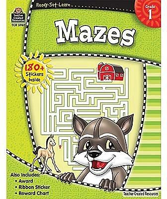 Ready•Set•Learn: Mazes, Grade 1