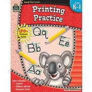 Teacher Created Resources® Ready - Set - Learn, Printing Practice Book