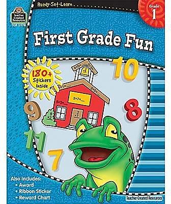 Ready•Set•Learn: First Grade Fun