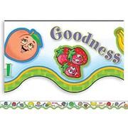Teacher Created Resources® pre-school - 5th Grades Scalloped Border Trim, Fruit of The Spirit