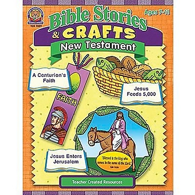 Teacher Created Resources® Bible Stories and Craft Book, New Testament, Grades 1st - 6th