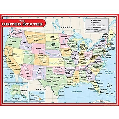 Teacher Created Resources® Us Map Chart