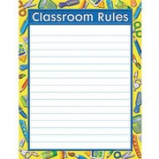 Teacher Created Resources® Tools For School Classroom Rules Chart