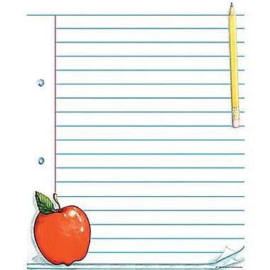 Teacher Created Resources® Note Pad Paper Lined Chart