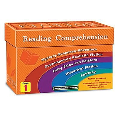 Teacher Created Resources® Fiction Reading Comprehension Card, Grades 1st