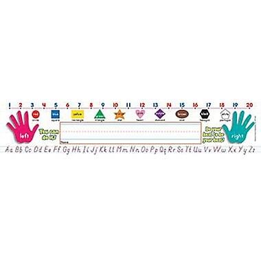 Teacher's Friend® Kindergarten - 3rd Grades Name Plate, Primary Grades Modern Manuscript