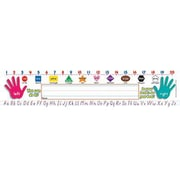 Teacher's Friend® Kindergarten - 3rd Grades Name Plate, Primary Grades Modern Manuscript