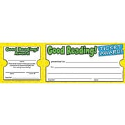 Scholastic Teacher's Friend Ticket Awards, Good Reading!, 600/Pack (TF-1614)