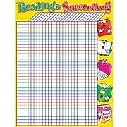 """Scholastic Reading Is Succeeding Incentive Chart, 22"""" x 17"""" (TF-2204)"""