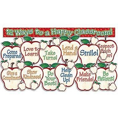 Teacher's Friend® Bulletin Board Set, Happy Classroom Apples