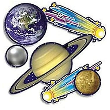 Teacher's Friend® Accent Punch-Outs, Solar System