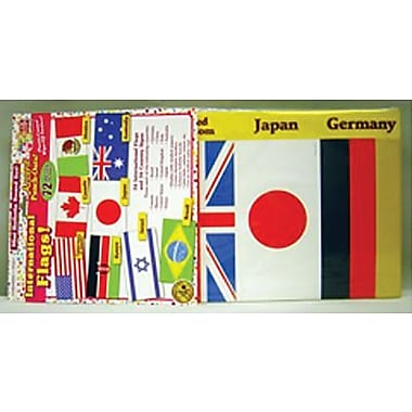 Teacher's Friend® Accent Punch-Outs, International Flags
