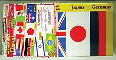 International Flags Accent Punch-Outs