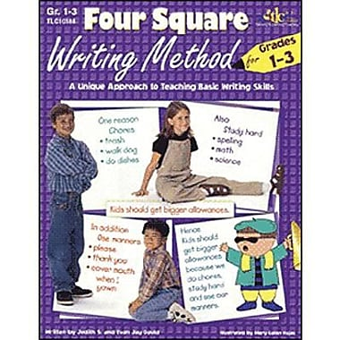 Milliken & Lorenz Educational Press Four Square Writing Method eBook, Grades 1st - 3rd, 9781429117418