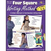 Milliken & Lorenz Educational Press – Livre électronique Four Square Writing Method, 1re à 3e années, 9781429117418, anglais