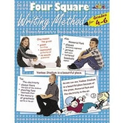 Milliken & Lorenz Educational Press – Livre électronique Four Square Writing Method, 4e à 6e années, 9781429117425, anglais