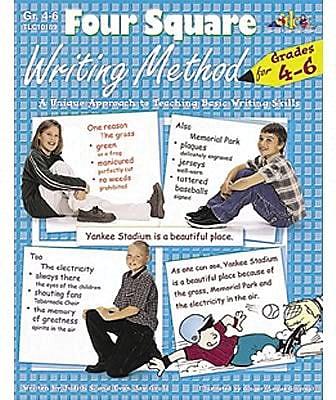 Four Square Writing Method Series, Grades 4-6