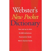 "Houghton Mifflin® ""Webster's New Pocket Dictionary"", Grades 7th - 12th (AH9780618947263)"