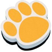 Ashley® Magnetic Whiteboard Eraser, Gold Paw