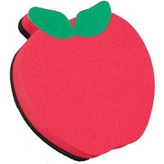 Ashley® Magnetic Whiteboard Eraser, Red Apple