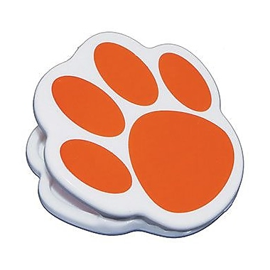 Ashley® Magnet Clip, Orange Paw