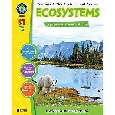Classroom Complete Press® Ecology & The Environment Series Ecosystem Book
