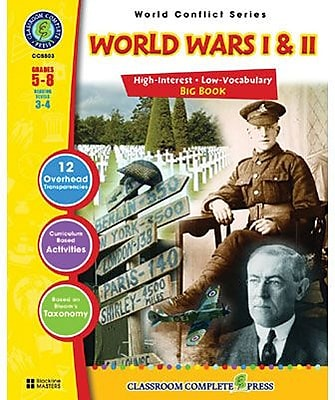 Classroom Complete Press, World Conflict Series World Wars I and II