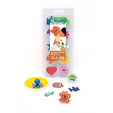 Center Enterprises® Ready2Learn™ Giant Stamper, Imaginative Play Set 1, 10/Pack (CE-6748)
