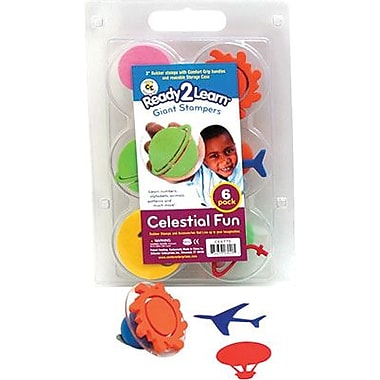 Center Enterprises® Ready2Learn™ Giant Stamper, Celestial Fun, 6/Pack (CE-6775)