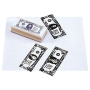 Center Enterprises® $1, $5, $10 Bills Stamp Kit, Fronts, Grades 1st - 4th, 3/ST, 2 ST/BD