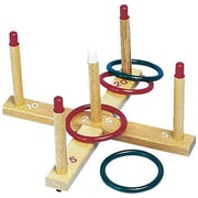 Champion Sports Quality Ring Toss Set, 4/Pack, 4/Pack (CHSQS1)