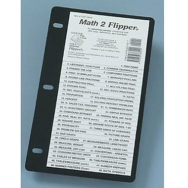 Christopher Lee Publications Math 2 Flipper Study Guide