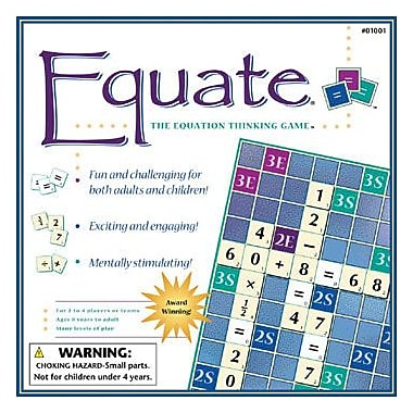 Conceptual Math Media Thinking Game, Equate