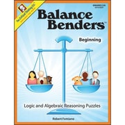 Critical Thinking Press™ Beginning Level Balance Benders Book, Grades 2nd - 6th