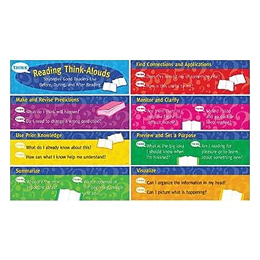 Creative Teaching Press Mini Bulletin Board Set, Reading Think-Alouds