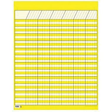 Creative Teaching Press™ Large Vertical Incentive Chart, Yellow