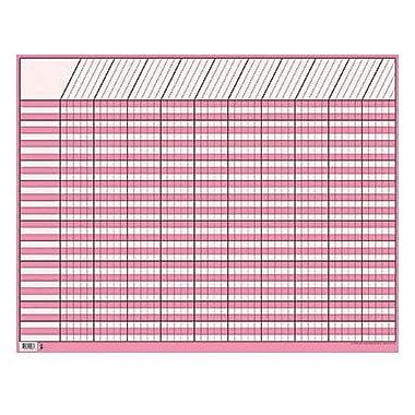 Creative Teaching Press™ Large Horizontal Incentive Chart, Pink