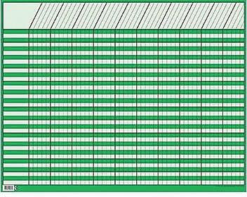 Creative Teaching Press™ Incentive Charts, Large Horizonal, Green
