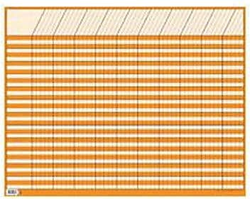 Creative Teaching Press™ Large Horizontal Incentive Chart, Orange, 10 EA/BD
