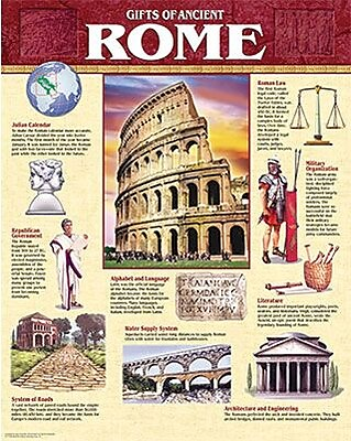 Creative Teaching Press Chart, Gifts of Ancient Rome