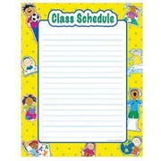 Creative Teaching Press™ Class Schedule Chart, Grades pre-kindergarten - 6th