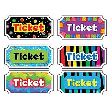 Creative Teaching Press, Tickets - Classroom Management Incentive, 648/Pack (CTP5947)