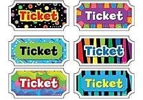 Creative Teaching Press™ Tickets - Classroom Management Incentive
