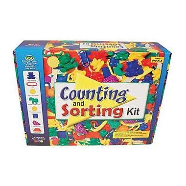 Learning Advantage Counting And Sorting Kit Manipulatives Set