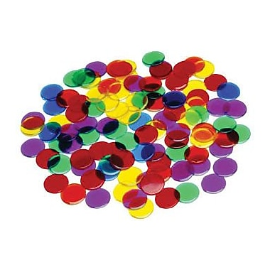 Learning Advantage Transparent Counters Manipulatives Set, Set of 250