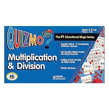 Learning Advantage™ Quizmo® Multiplication and Division Game (CTU8243)